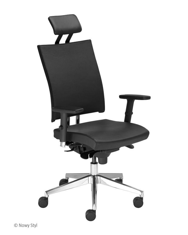 Krzesło biurowe obrotowe @ MOTION U HRU R15K steel33