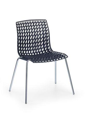 Krzesło Metalowe K 160 Halmar Czarne