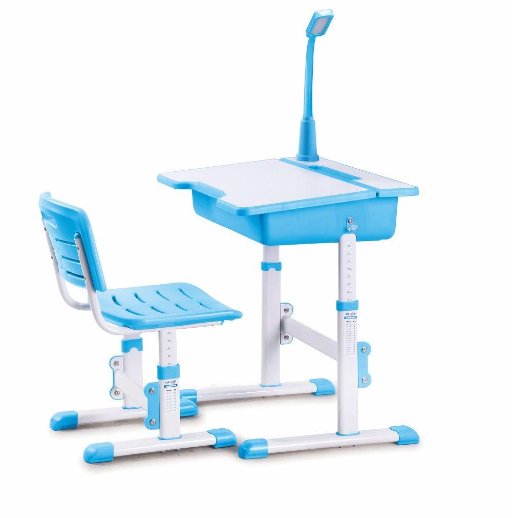 Fantastyczny Biurko ASTRO 2 Halmar z krzesłem, różowe, niebieskie, zielone BK52