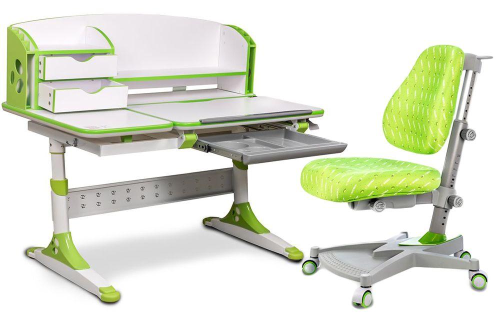 Niewiarygodnie Zestaw biurko Bologna i krzesło Lider I-Study Ergonomika | ERGOMEBLE XK03