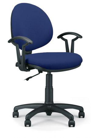 Krzesło obrotowe SMART GTP M28 granatowe Nowy Styl | ERGOMEBLE